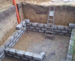 Строительство погреба в гараже своими руками пошагово