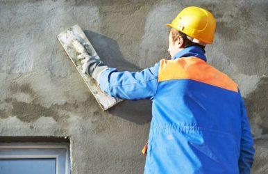 Штукатурка для газосиликатных блоков наружная
