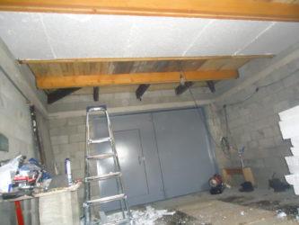 Какие блоки можно положить на перекрытие гаража?