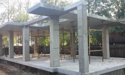 Монолитно каркасное строительство частного дома