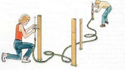 Самодельный уровень для строительства