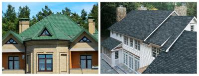 Какая крыша лучше металлочерепица или мягкая кровля?