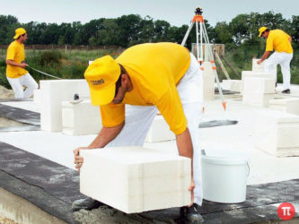 Газобетон на цементный раствор можно ли класть бетон купить луганск