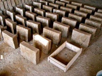 Блоки из земли своими руками