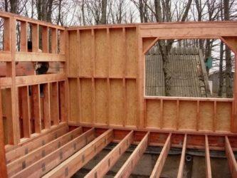 Технология строительства каркасной бани поэтапно