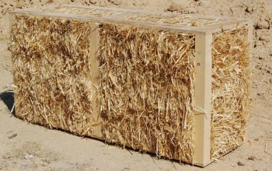 Блоки из камыша и глины своими руками