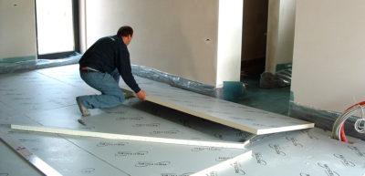 Пенопласт под бетонную стяжку