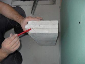 Чем пилить пазогребневые блоки?