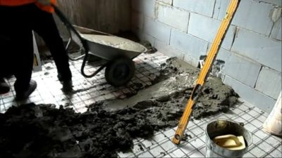 Что сделать чтобы стяжка не пылила?