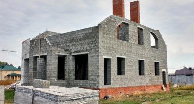Строительство дома из КББ