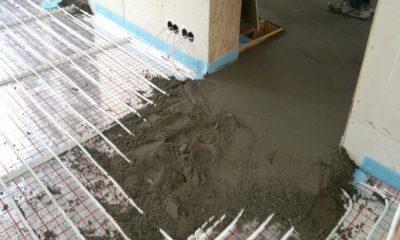 Варианты сухой стяжки под теплый водяной пол