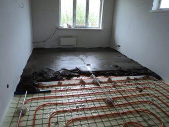 Нужно ли армировать стяжку под теплый пол?