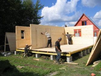Щиты для строительства каркасного дома