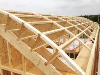 Технология строительства дома из двутавровой балки