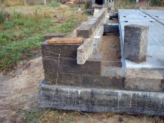 Фундамент для дома из арболитовых блоков