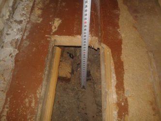 Стяжка пола в хрущевке на первом этаже