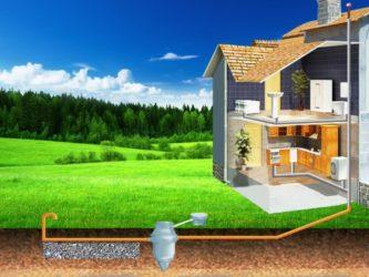 Строительство канализации загородного дома