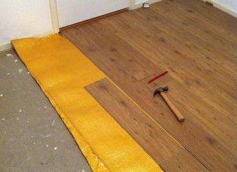Можно ли класть ламинат на бетонную стяжку?