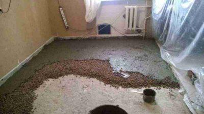 Керамзит под стяжку пола в квартире