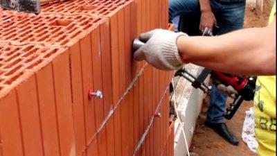 Крепеж для керамических блоков