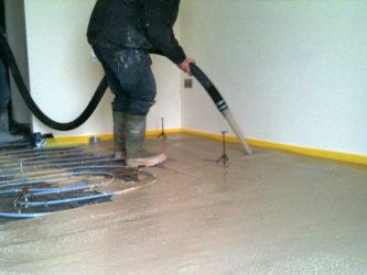 Легкий бетон для стяжки пола