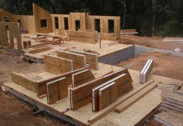 Сэндвич панели для строительства дома