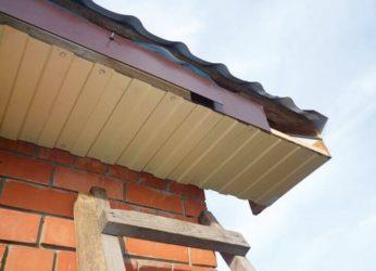 Конструкция кровли дома без подшивки свесов