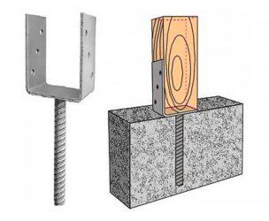 Крепеж для деревянного строительства