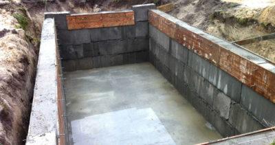 Строительство монолитного подвала для дома