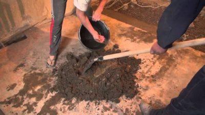 Сколько сохнет стяжка из пескобетона и керамзита?