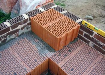 Фундамент для дома из керамических блоков