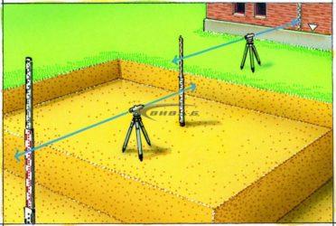 Как пользоваться нивелиром при строительстве забора?