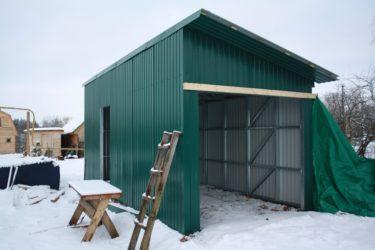 Самый дешевый материал для строительства гаража