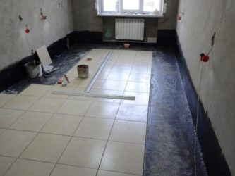 Гидроизоляция для стяжки пола в квартире