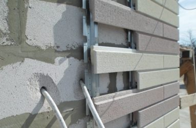 Штукатурка стен из газобетонных блоков