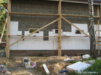 Чем утеплить фасад дома из керамзитобетонных блоков?