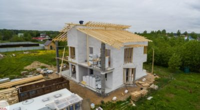 Строительство частного дома из газобетона
