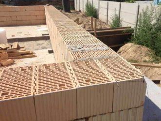 Строительство домов из теплой керамики
