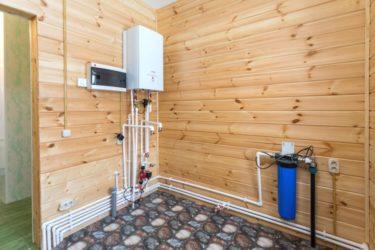 Как установить котел отопления в каркасном доме?