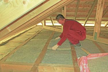 Утеплитель для потолка для холодного чердака