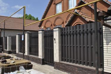 Строительство заборов для частных домов