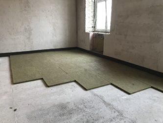 Звукоизоляция пола в квартире под стяжку