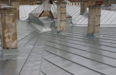 Ремонт и устройство крыши фальцевая кровля