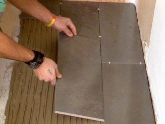 Через сколько можно укладывать плитку на стяжку?