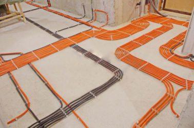 Технология монтажа электропроводок в жилищном строительстве