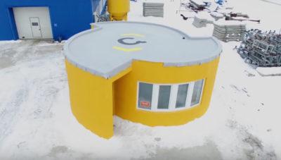 Строительство домов 3д принтером в России