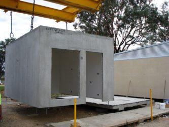 Бетонные модули для строительства дома