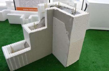 Дом из пенопластовых блоков