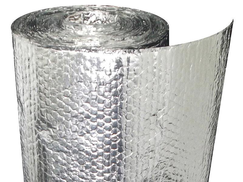 Фольгированный утеплитель для труб дымохода