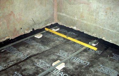 Гидроизоляция ванной комнаты под стяжку